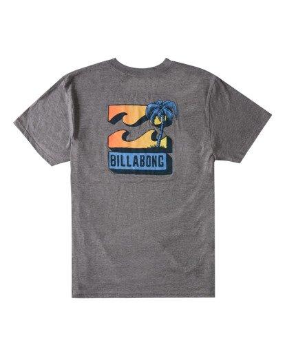 4 BBTV T-Shirt Green ABYZT00708 Billabong