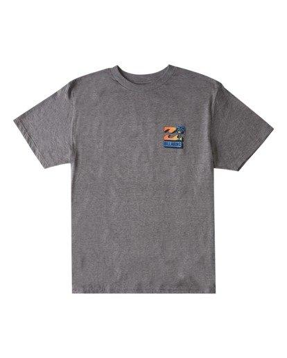 3 BBTV T-Shirt Green ABYZT00708 Billabong
