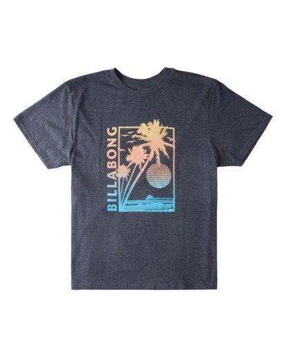 3 Pier Short Sleeve T-Shirt Green ABYZT00713 Billabong