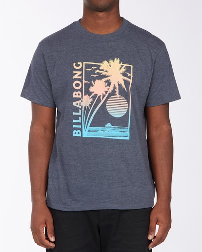 0 Pier Short Sleeve T-Shirt Blue ABYZT00713 Billabong