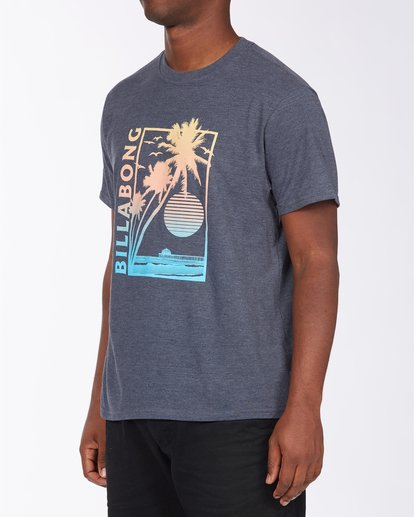 1 Pier Short Sleeve T-Shirt Blue ABYZT00713 Billabong