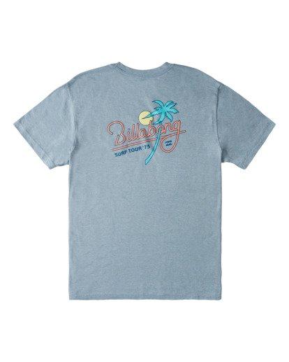 1 Surf Tour Short Sleeve T-Shirt Blue ABYZT00714 Billabong