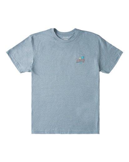 0 Surf Tour Short Sleeve T-Shirt Blue ABYZT00714 Billabong