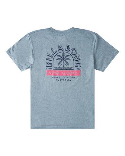 4 Goods Short Sleeve T-Shirt Blue ABYZT00715 Billabong