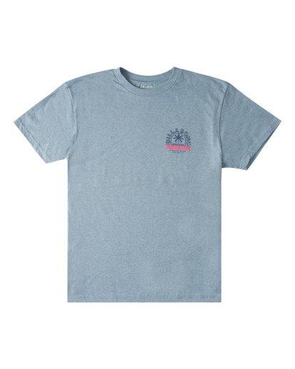 3 Goods Short Sleeve T-Shirt Blue ABYZT00715 Billabong