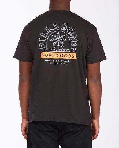 2 Goods Short Sleeve T-Shirt Black ABYZT00715 Billabong