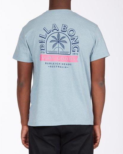 2 Goods Short Sleeve T-Shirt Blue ABYZT00715 Billabong