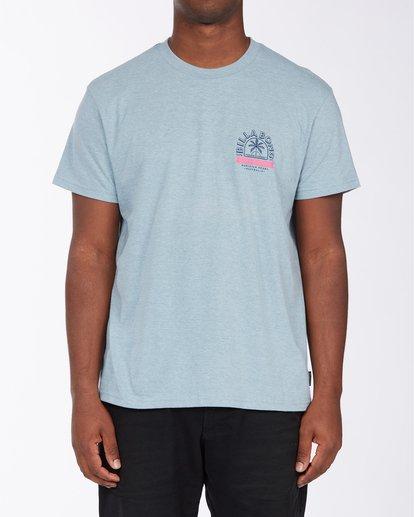 0 Goods Short Sleeve T-Shirt Blue ABYZT00715 Billabong