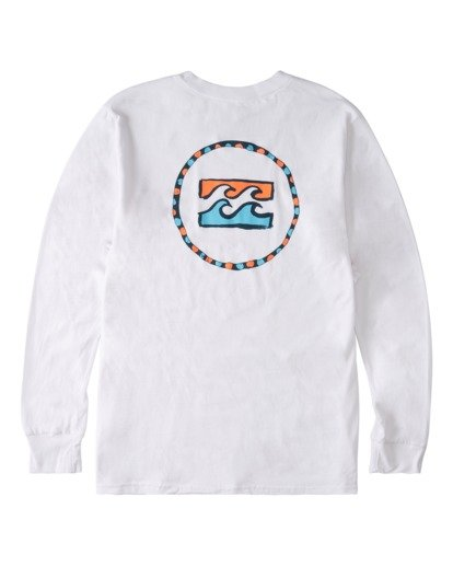 4 Ring Long Sleeve T-Shirt White ABYZT00717 Billabong