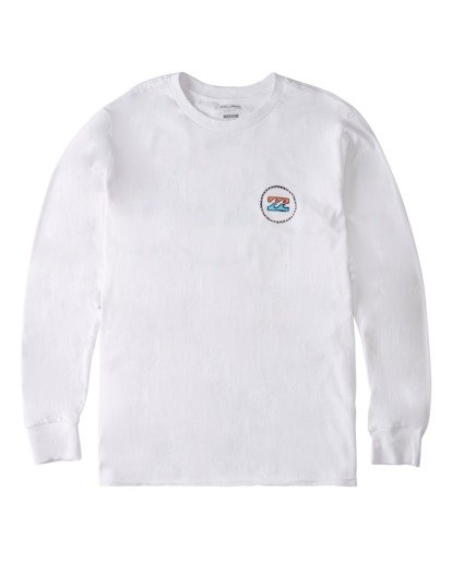 3 Ring Long Sleeve T-Shirt White ABYZT00717 Billabong