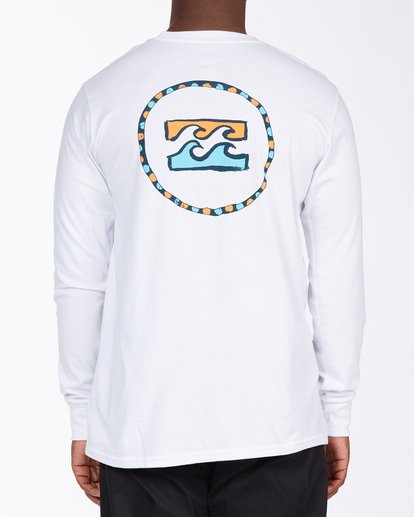 2 Ring Long Sleeve T-Shirt White ABYZT00717 Billabong