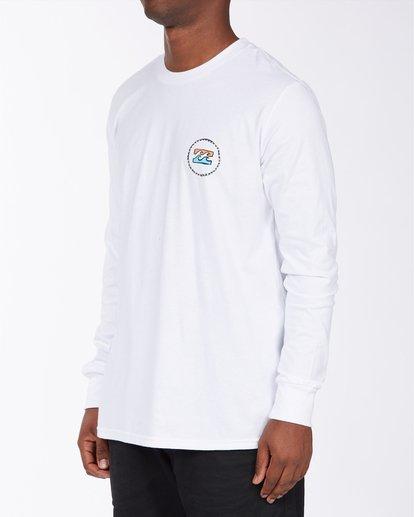 1 Ring Long Sleeve T-Shirt White ABYZT00717 Billabong