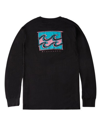 4 Draft Long Sleeve T-Shirt Black ABYZT00718 Billabong