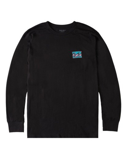 3 Draft Long Sleeve T-Shirt Black ABYZT00718 Billabong