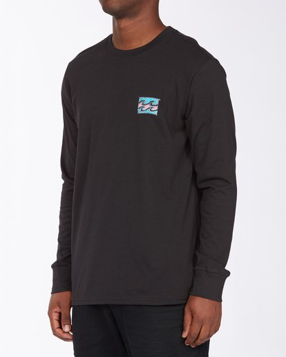 1 Draft Long Sleeve T-Shirt Black ABYZT00718 Billabong