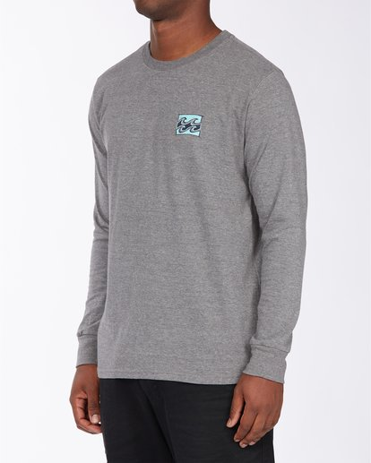 1 Draft Long Sleeve T-Shirt Green ABYZT00718 Billabong