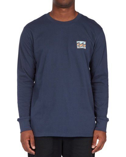0 Draft Long Sleeve T-Shirt Blue ABYZT00718 Billabong