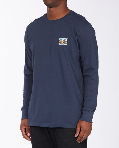 1 Draft Long Sleeve T-Shirt Blue ABYZT00718 Billabong