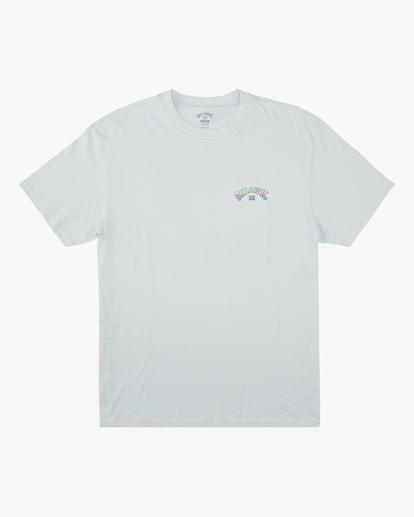 0 Arch Fill Short Sleeve T-Shirt Blue ABYZT00754 Billabong