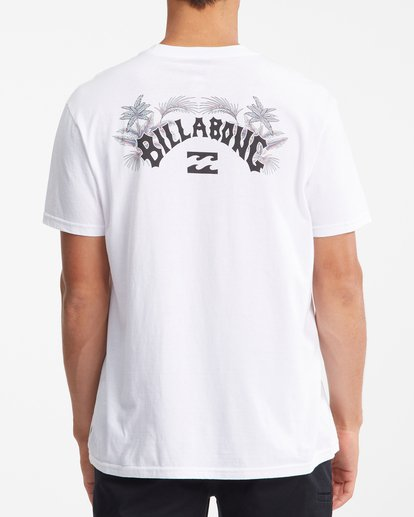 3 Arch Fill Short Sleeve T-Shirt White ABYZT00754 Billabong