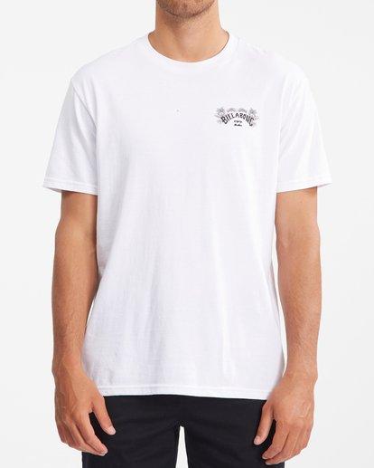 0 Arch Fill Short Sleeve T-Shirt White ABYZT00754 Billabong