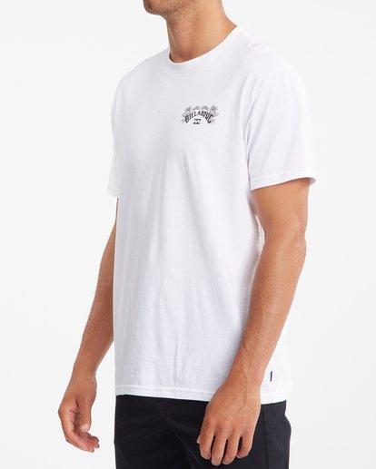 1 Arch Fill Short Sleeve T-Shirt White ABYZT00754 Billabong