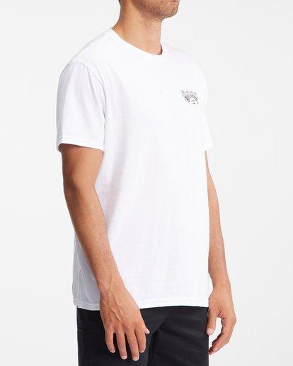 2 Arch Fill Short Sleeve T-Shirt White ABYZT00754 Billabong