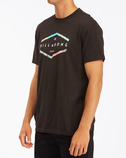 1 Entry Short Sleeve T-Shirt Black ABYZT00755 Billabong