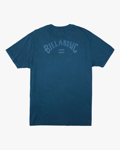 5 Arch Wave Washed Short Sleeve T-Shirt Blue ABYZT00757 Billabong