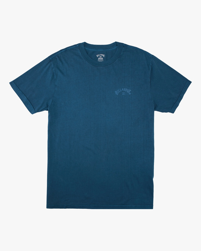4 Arch Wave Washed Short Sleeve T-Shirt Blue ABYZT00757 Billabong