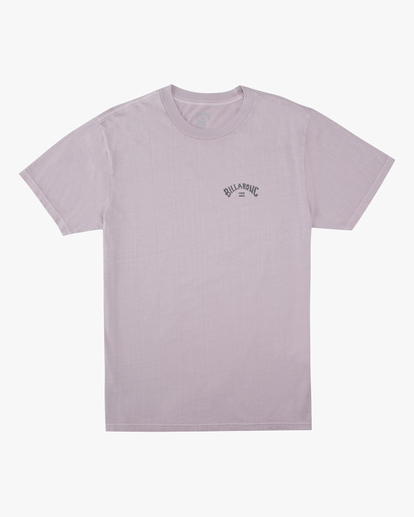 4 Arch Wave Washed Short Sleeve T-Shirt Purple ABYZT00757 Billabong