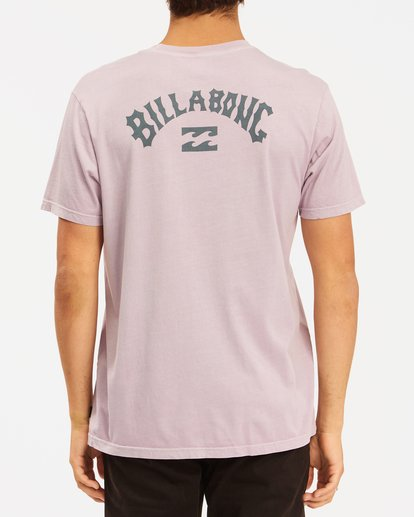 2 Arch Wave Washed Short Sleeve T-Shirt Purple ABYZT00757 Billabong