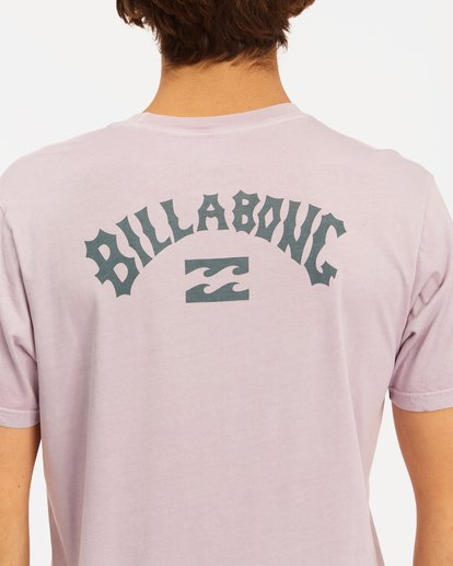 3 Arch Wave Washed Short Sleeve T-Shirt Purple ABYZT00757 Billabong