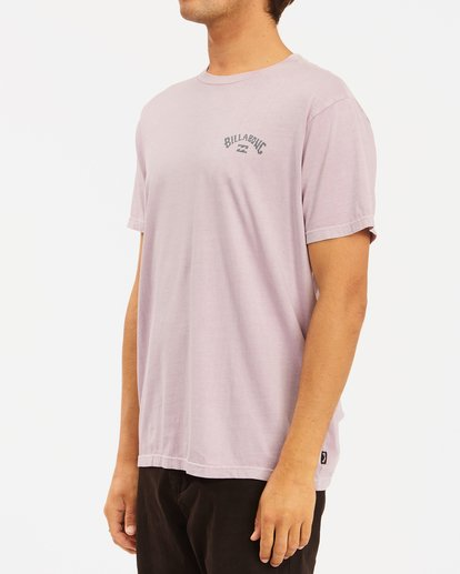 1 Arch Wave Washed Short Sleeve T-Shirt Purple ABYZT00757 Billabong