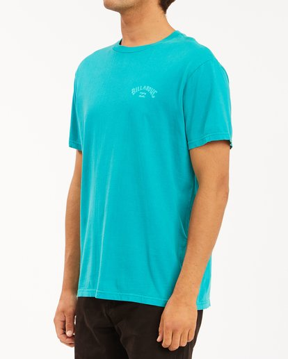 1 Arch Wave Washed Short Sleeve T-Shirt Blue ABYZT00757 Billabong