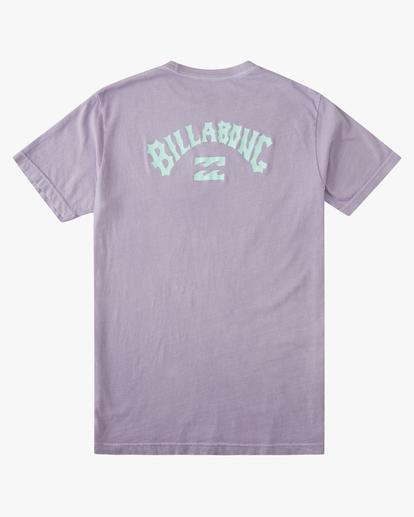6 Arch Short Sleeve T-Shirt Purple ABYZT00758 Billabong