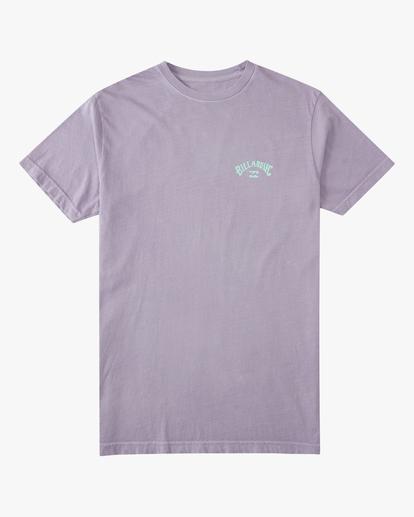 5 Arch Short Sleeve T-Shirt Purple ABYZT00758 Billabong