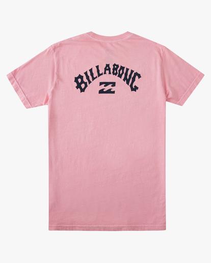 6 Arch Short Sleeve T-Shirt Pink ABYZT00758 Billabong