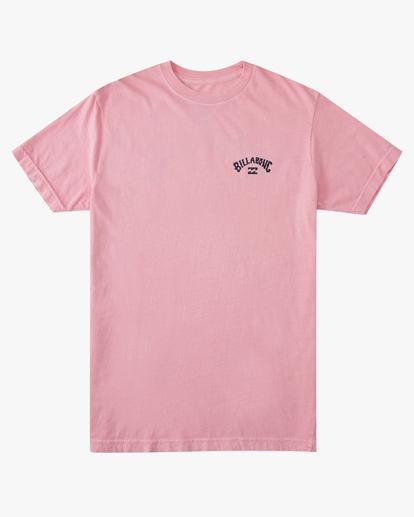 5 Arch Short Sleeve T-Shirt Pink ABYZT00758 Billabong