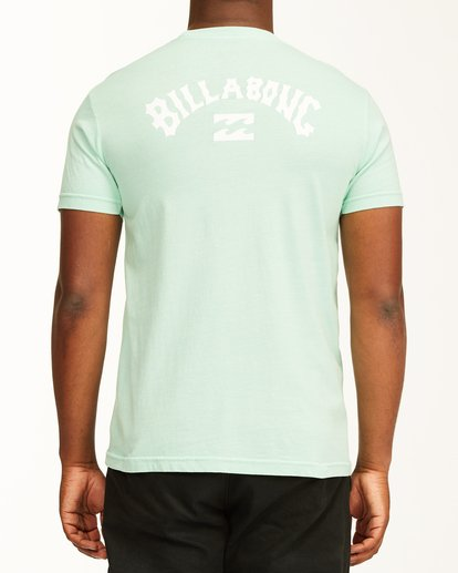2 Arch Short Sleeve T-Shirt Green ABYZT00758 Billabong
