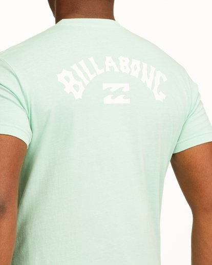 3 Arch Short Sleeve T-Shirt Green ABYZT00758 Billabong