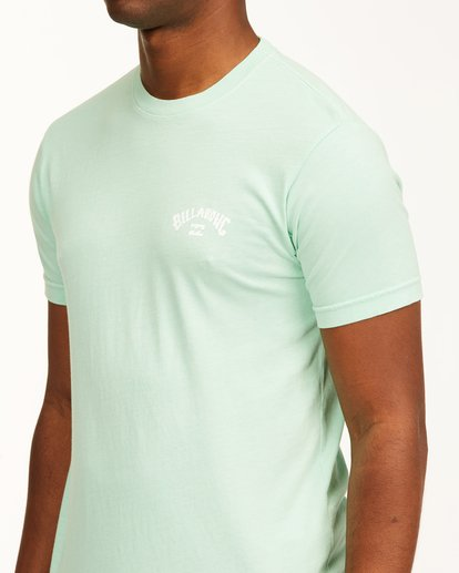 4 Arch Short Sleeve T-Shirt Green ABYZT00758 Billabong