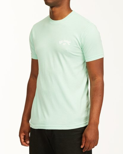 1 Arch Short Sleeve T-Shirt Green ABYZT00758 Billabong
