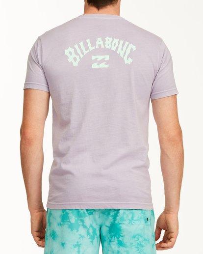 2 Arch Short Sleeve T-Shirt Purple ABYZT00758 Billabong
