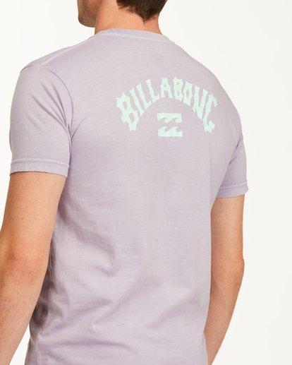 3 Arch Short Sleeve T-Shirt Purple ABYZT00758 Billabong