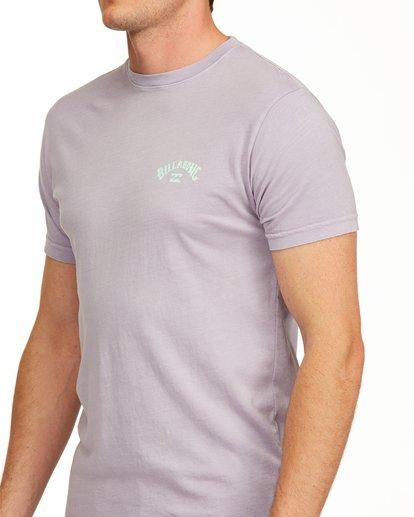 4 Arch Short Sleeve T-Shirt Purple ABYZT00758 Billabong