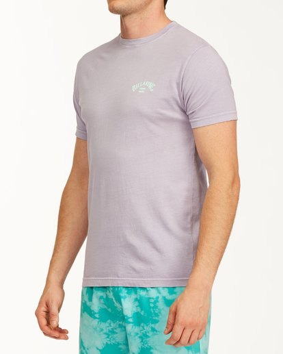 1 Arch Short Sleeve T-Shirt Purple ABYZT00758 Billabong