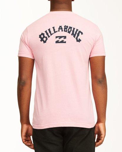 2 Arch Short Sleeve T-Shirt Pink ABYZT00758 Billabong