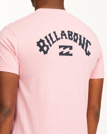 3 Arch Short Sleeve T-Shirt Pink ABYZT00758 Billabong
