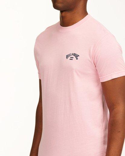 4 Arch Short Sleeve T-Shirt Pink ABYZT00758 Billabong